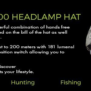 headlamp hats for hunting