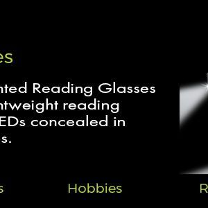 lightspecs led reading glasses banner