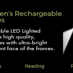 Women's Rechargeable Reading Glasses