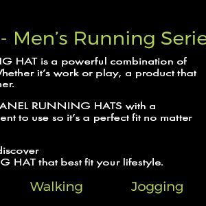 lighted led mens running hat