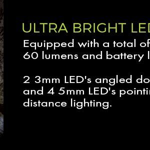 60 lumen led lighted hats