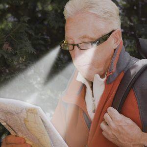 led lighted reading glasses