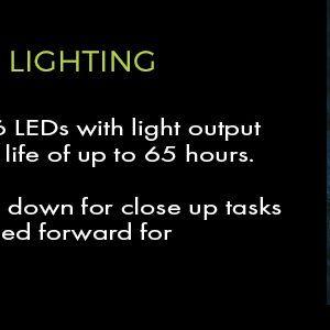 42 lumen led lighted hat