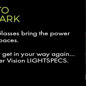 led safety glasses for working in low lighting