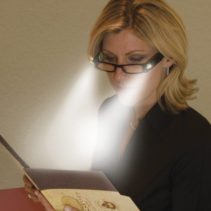lighted eyeglasses