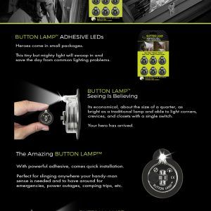 Benefits and specifications of adhesive Button Lamp LEDs