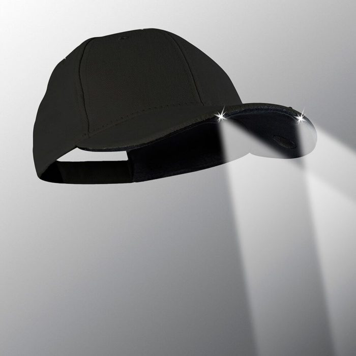 powercap 20/00 structured led lighted hat