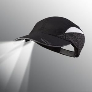 women's led lighted running hat