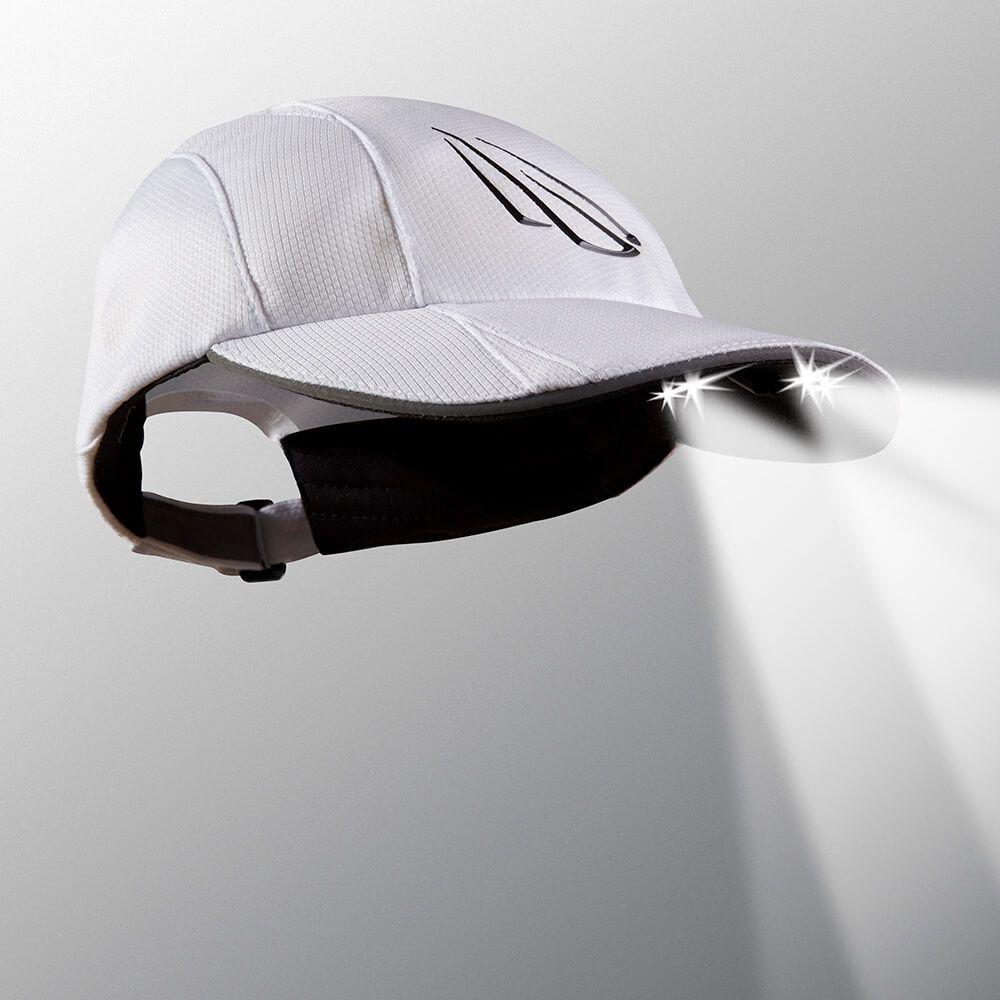 LED Lighted Men s 5 Panel Running Hat - POWERCAP®  d2ceed1e9c2
