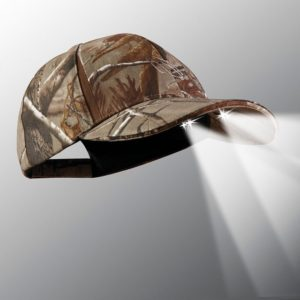 powercap 25/10 led lighted hats camo blaze