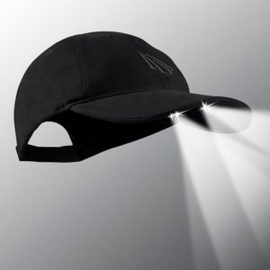 powercap 25/10 structured cotton led lighted hat