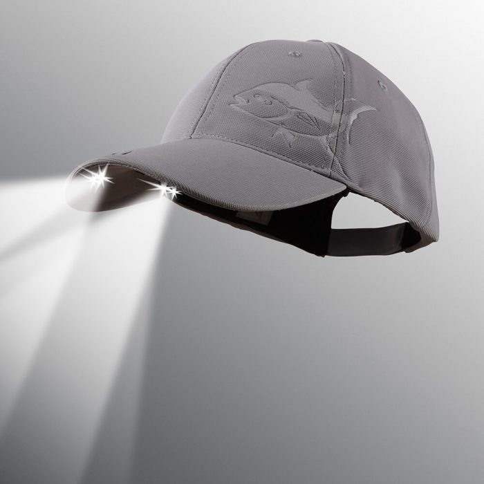 powercap LED lighted hat structured Tuna