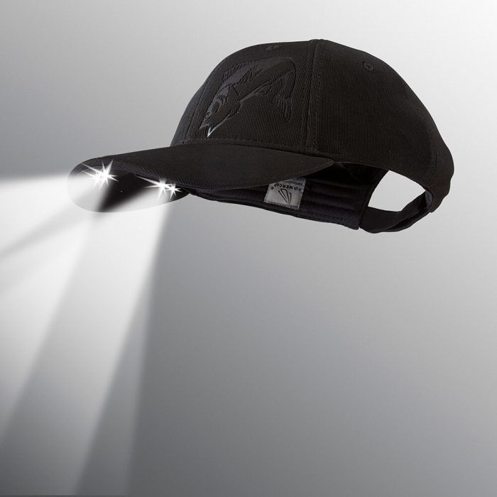 powercap LED lighted hat structured Walleye