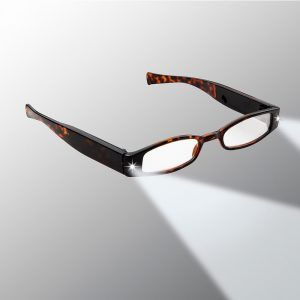 Women's led lighted glasses for reading
