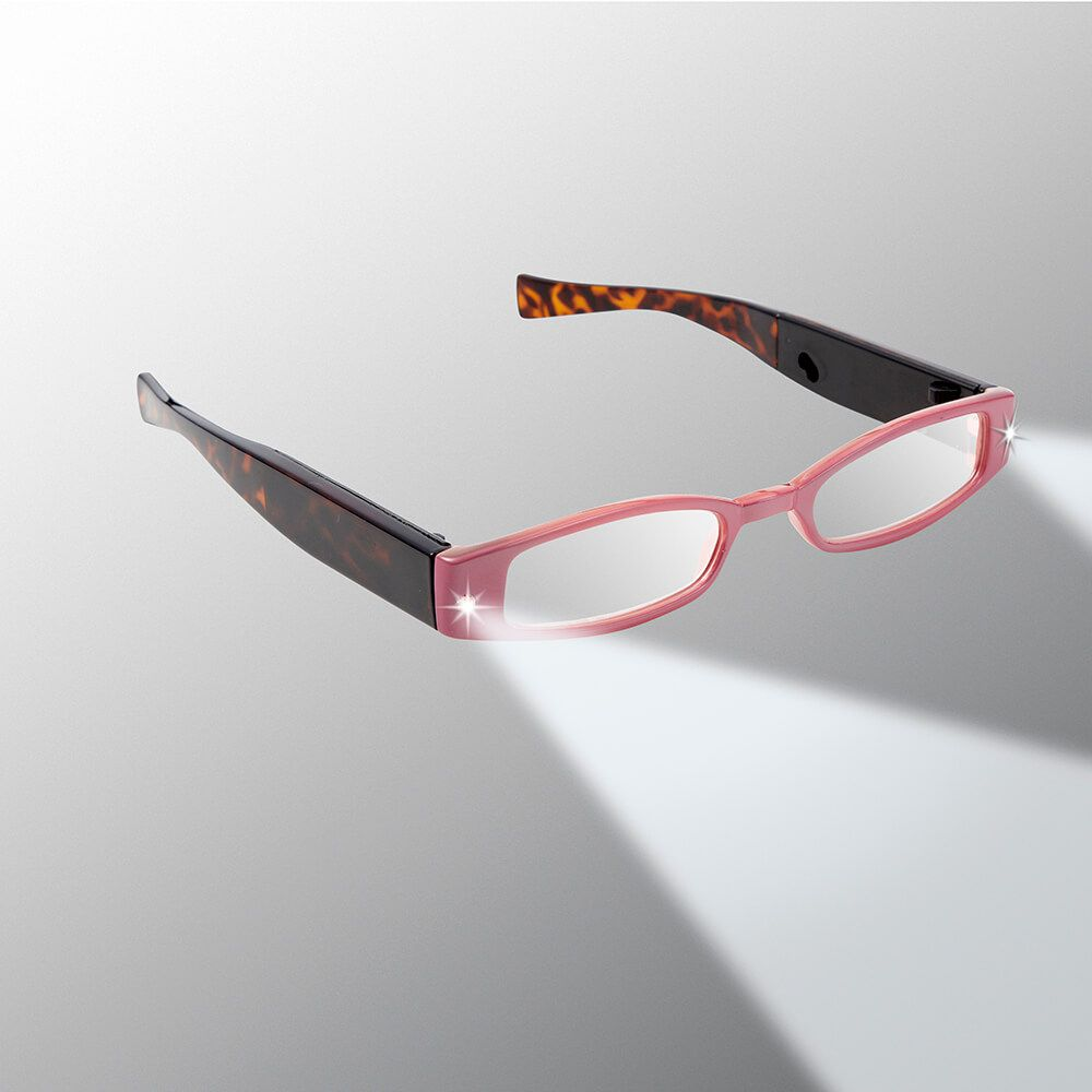 6e09efdec3b0 Women's Rechargeable LED Reading Glasses - LIGHTSPECS | Panther Vision