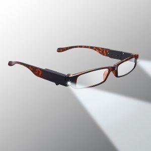 lighted glasses tortoise shell
