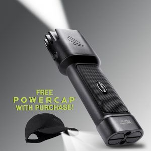 Promotion - free Powercap with Flateye F-1700 LED flashlight purchase