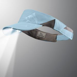 powercap visor marlin light blue