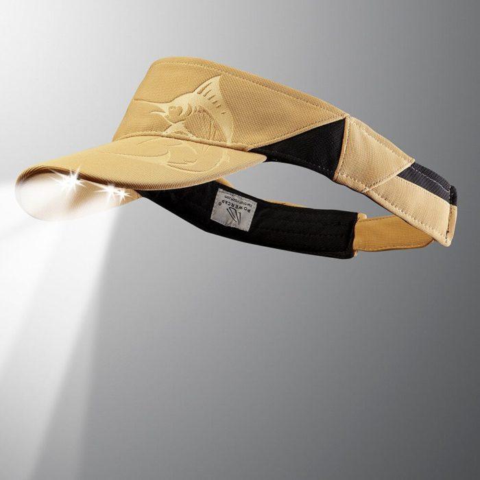powercap visor marlin khaki