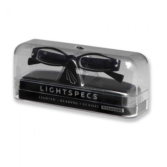 lightspecs led reading glasses case