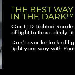 Read In The Dark With Our LED Reading Glasses
