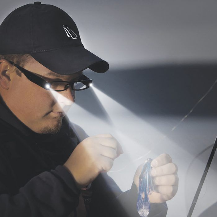 lighting reading glasses for fishing