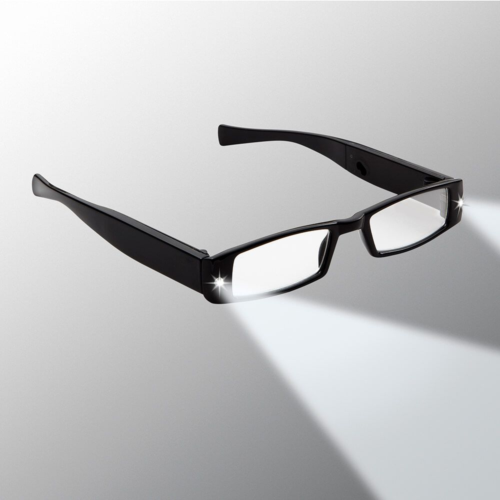 3bb68371ad6d Men's Rechargeable LED Reading Glasses - Panther Vision