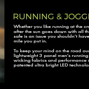 lighted hats for both running and jogging