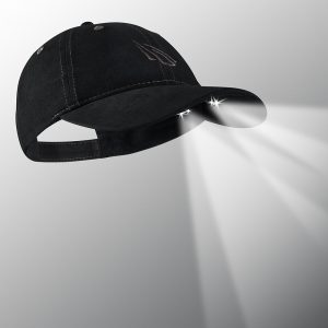Black canvas hat