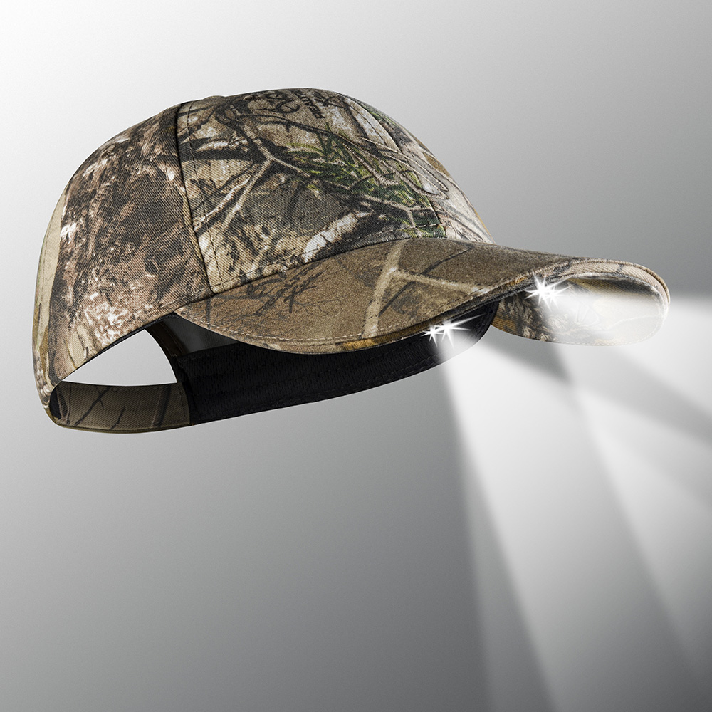 c4196b6078f76 ... 25 10 Structured Camo   Blaze LED Lighted Hats. 🔍. camo powercap  lighted hat