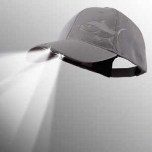 lighted fishing hat
