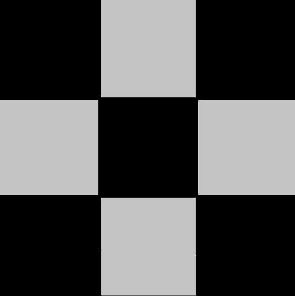 Plaid Grey/Black