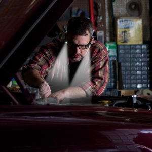 lighted safety glasses for car mechanics