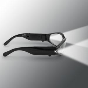 black lighted safety glasses for sale
