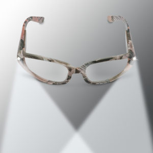 pink camo lighted safety glasses