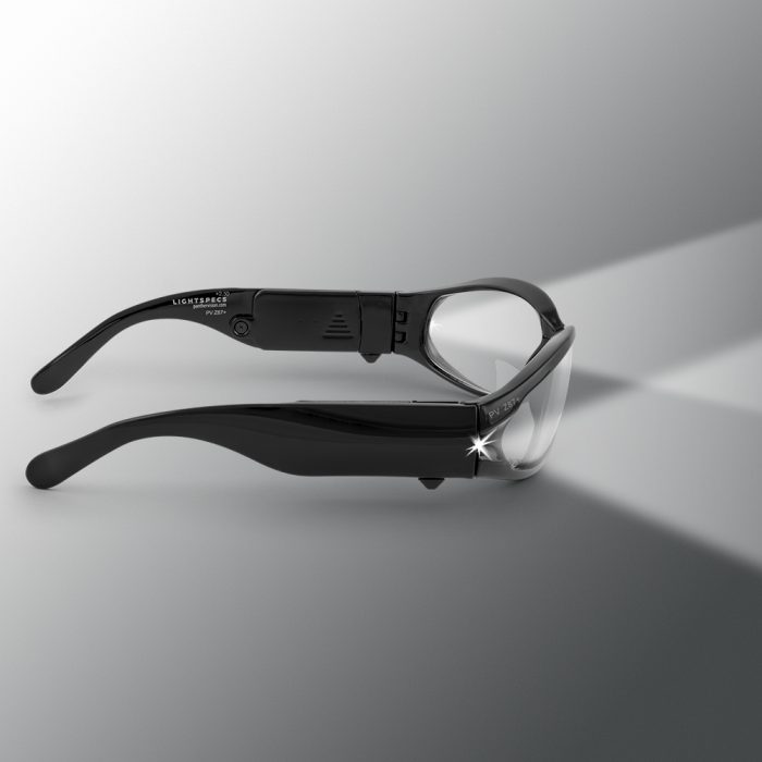 lighted safety glasses black