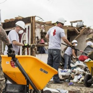 Team Rubicon at work