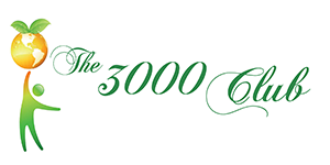 The 3000 Club logo