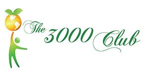 The 3000 Club logo