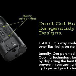 led flashlight with cooling technology