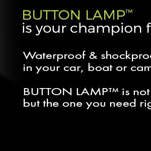 button lamp waterproof and shockproof light banner