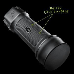 Easy to Grip Rechargeable Flashlight
