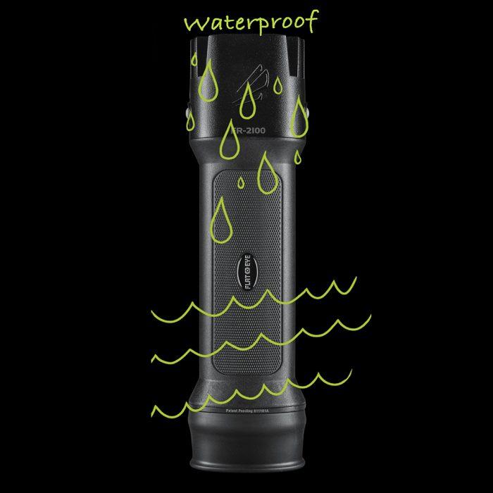 Waterproof Rechargeable Flashlight
