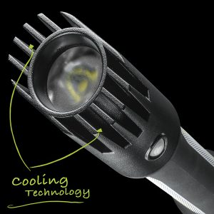 Cooling Technology On Our Lantern Styles LED Flashlight