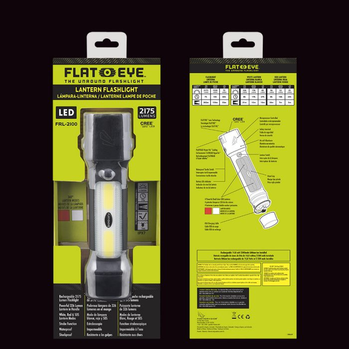 rechargeable flashlight led