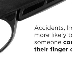 Don't keep finger constantly on trigger