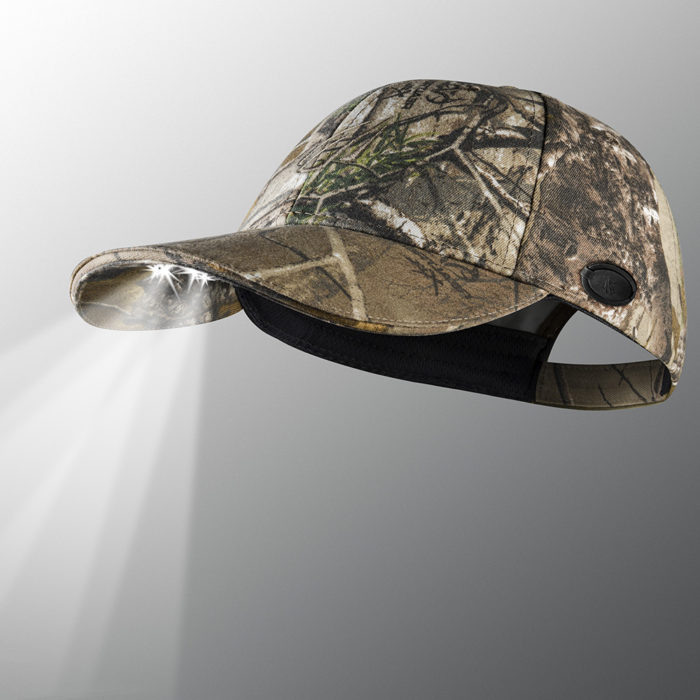 rechargeable camo lighted hat