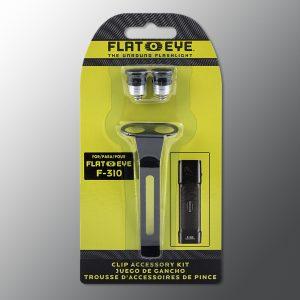 Flateye flashlight clip