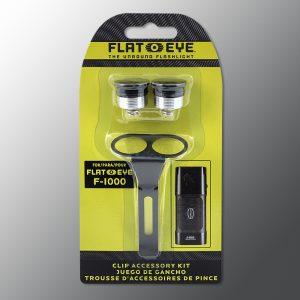 Flateye clip package