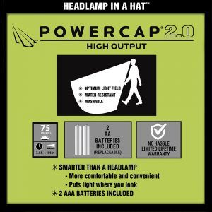 smarter headlamp powercap 2.0